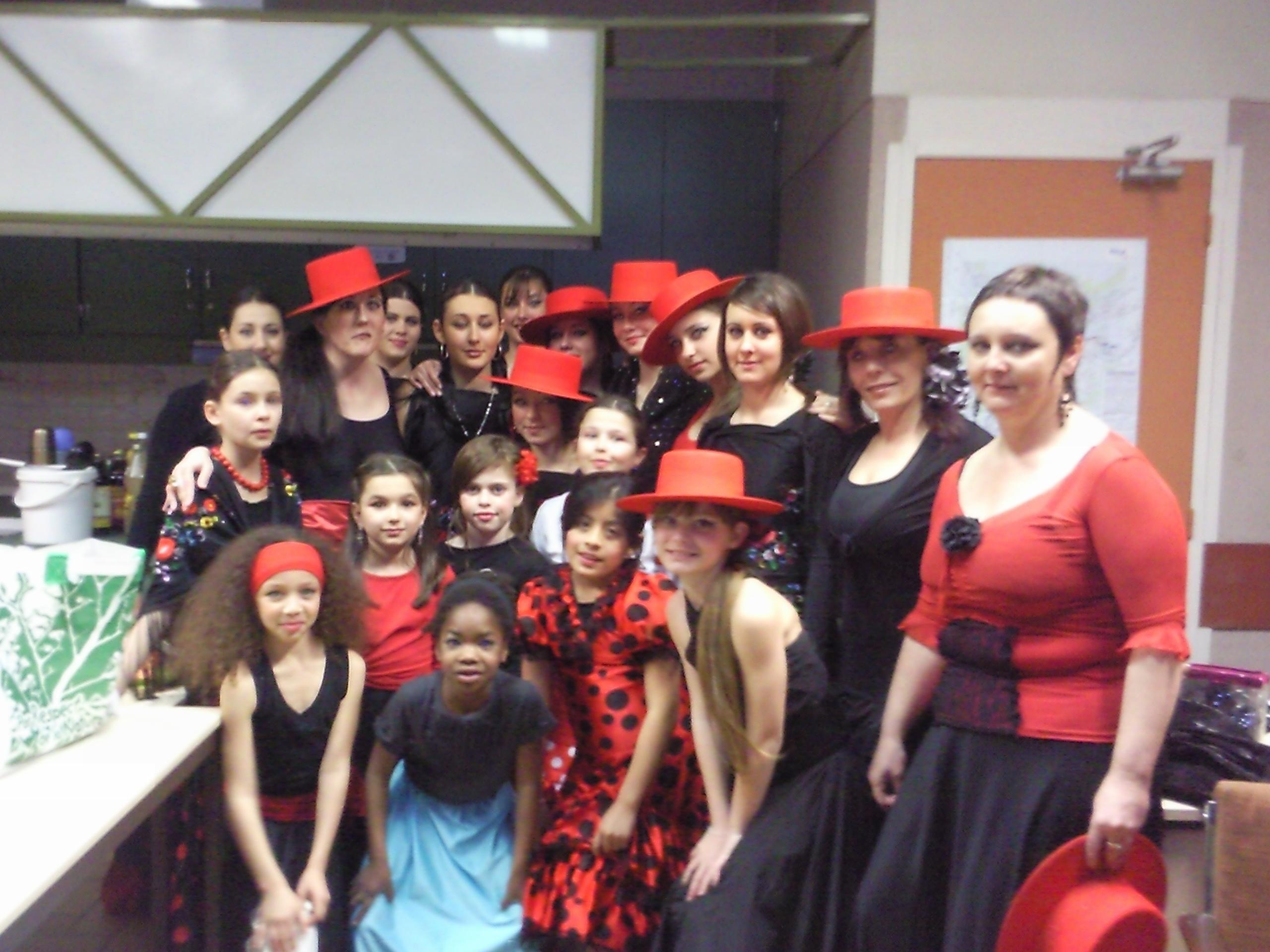 jupe gitane flamenco